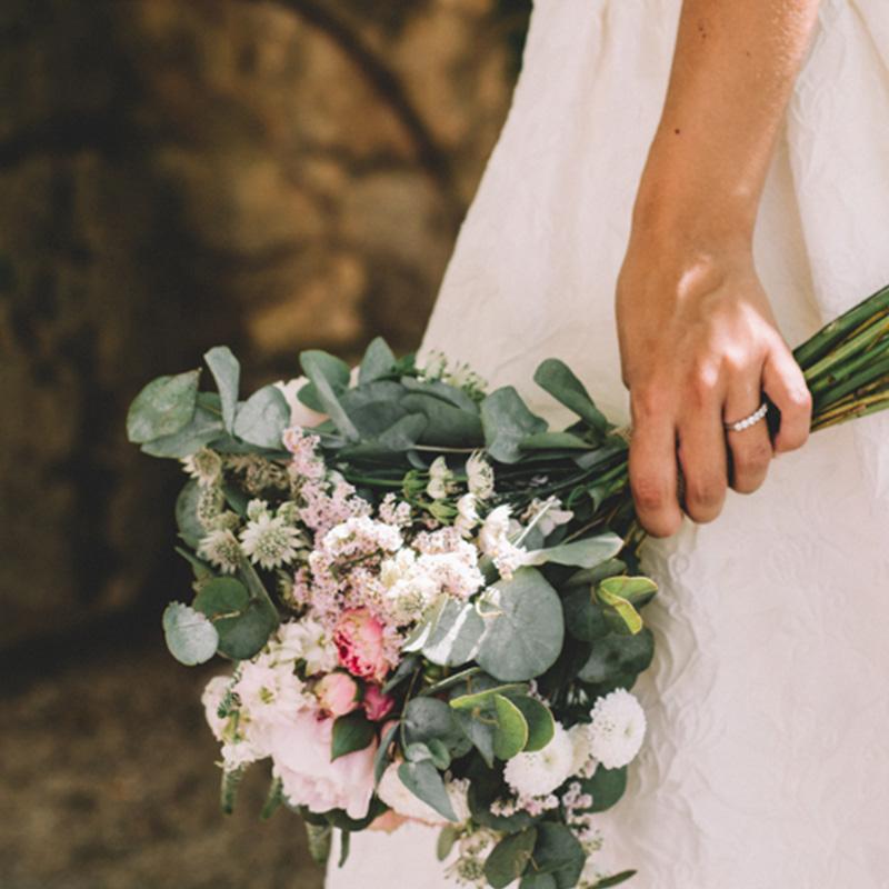 Ramos de novia personalizados Murcia hechos por floristas profesionales