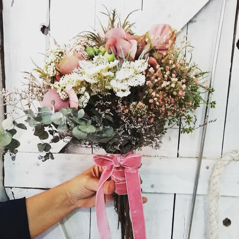 Tendencias en ramos de novia Oasis Floristas