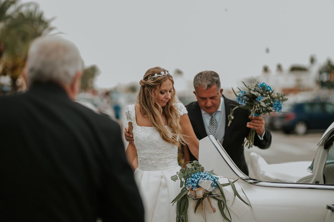 fotografos bodas los collados iglesia cabo de palos
