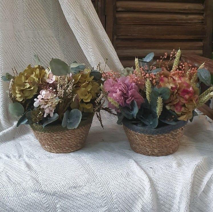 Envío de cestos de flores España