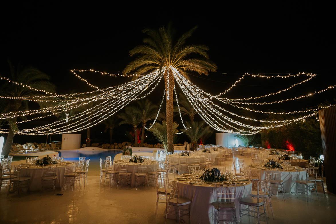 decoración iluminación bodas