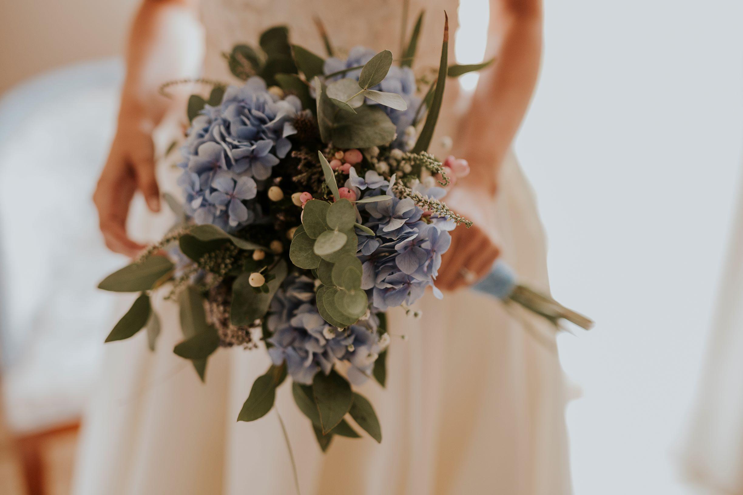 Marta ramo de novia