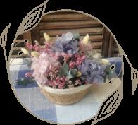 cestos de flores decoracion oasis floristas cartagena