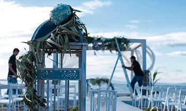 decoracion bodas y eventos en cartagena murcia oasis floristas