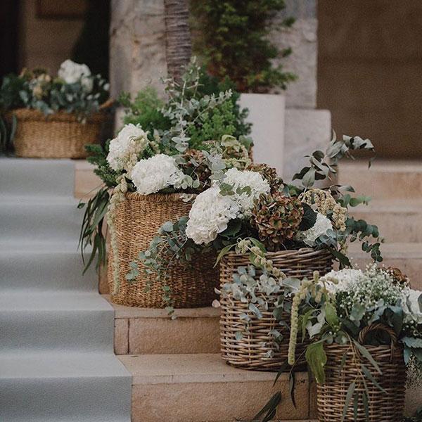 Decoraciones florales para eventos en Cartagena Murcia