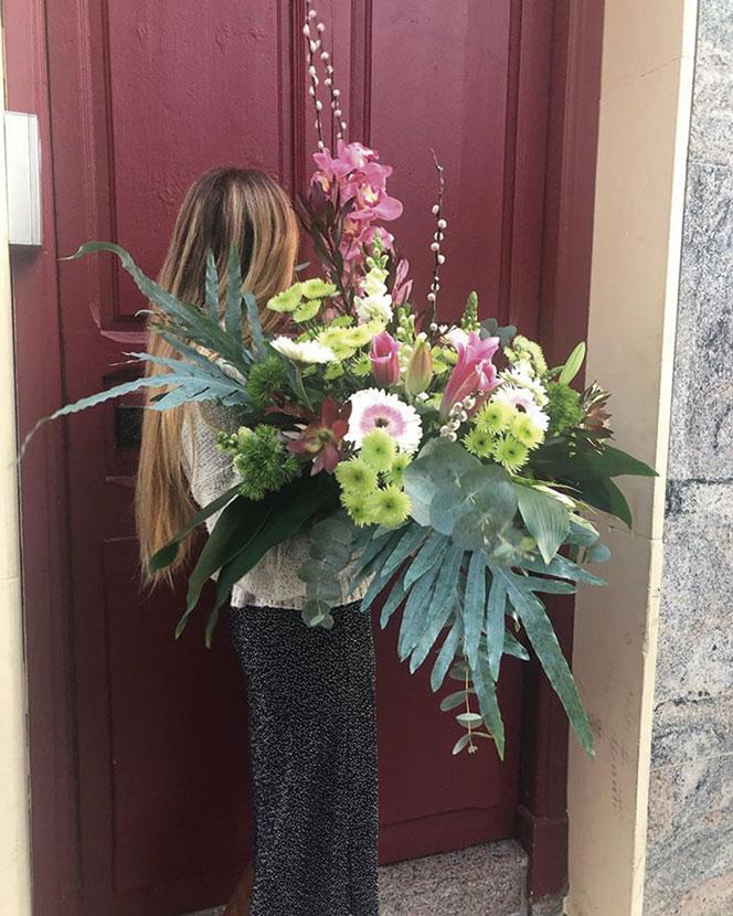 Flores preservadas envío a domicilio Cartagena Oasis Floristas