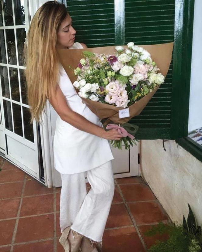 Ramos de flores preservadas para decorar
