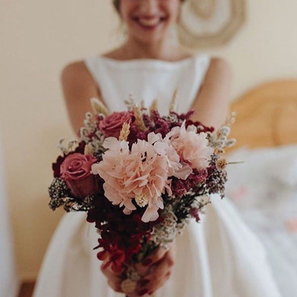 Venta online de ramos de novia hechos a medida floristería Cartagena