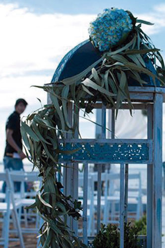 Trabajo en equipo floristería en Cartagena Oasis